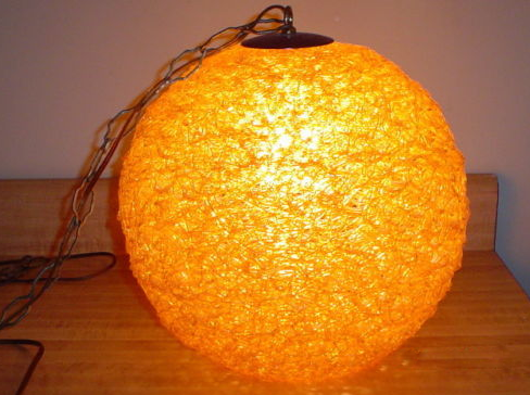 vintage swag lamps photo - 9