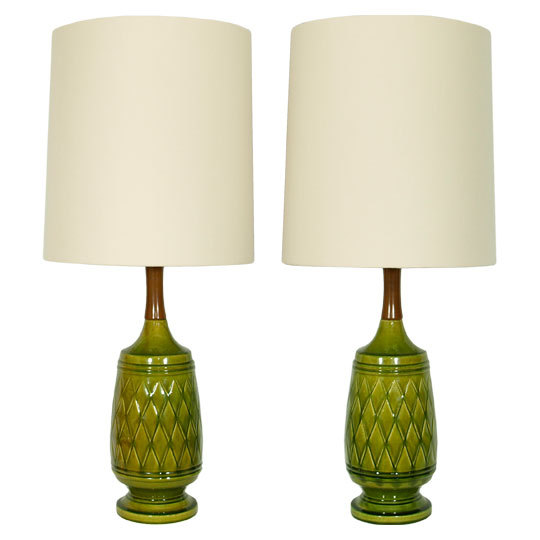 vintage table lamps photo - 1