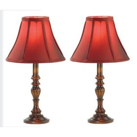 vintage table lamps photo - 2