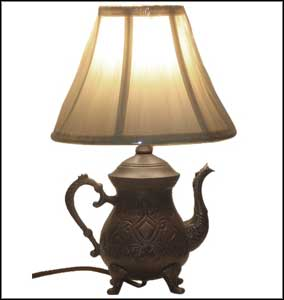 vintage table lamps photo - 3