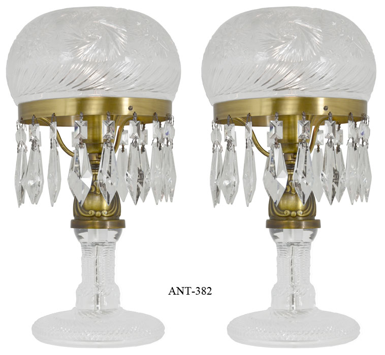 vintage table lamps photo - 6