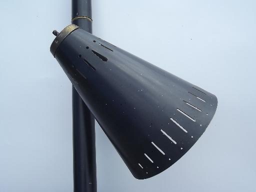 vintage tension pole lamp photo - 1