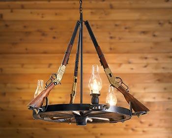 wagon wheel ceiling fan photo - 3