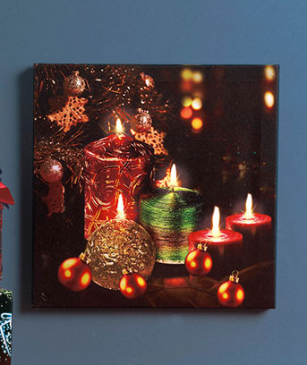 wall art with led lights photo - 9