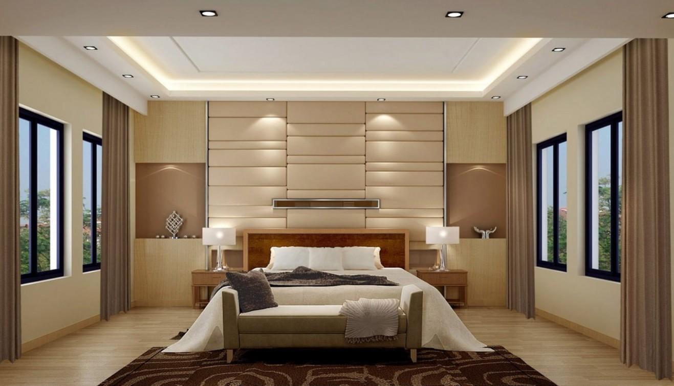 wall bedroom lights photo - 3