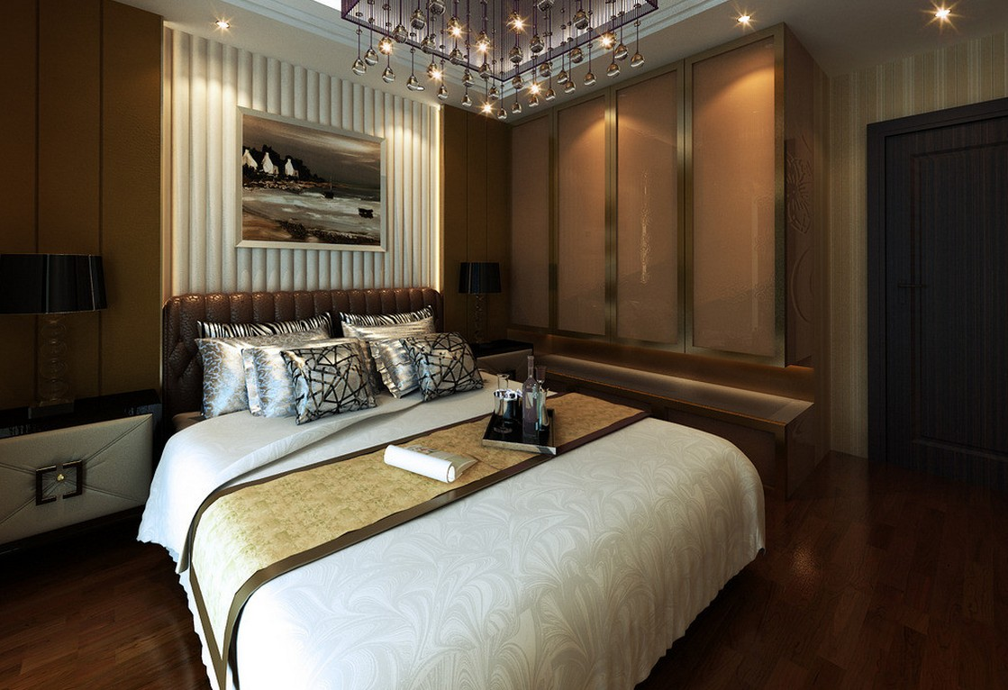 Adding romance in bedroom using wall bedroom lights for Wall light fixtures bedroom