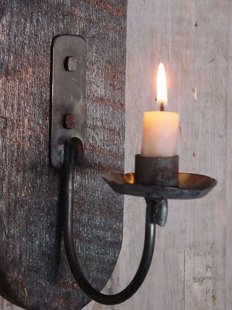 wall candle lights photo - 8