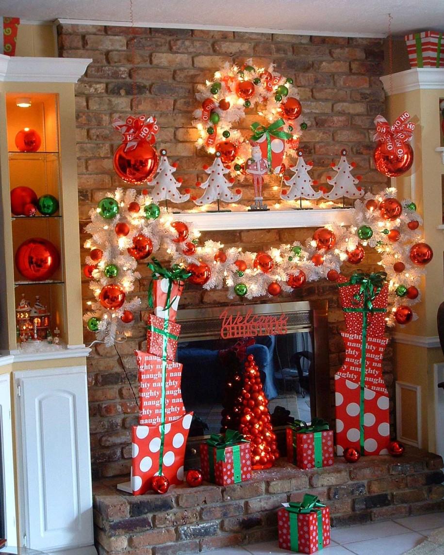 wall christmas lights photo - 10