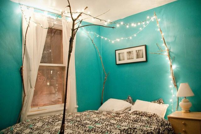 wall christmas lights photo - 8