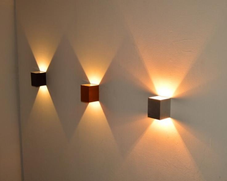 wall led lights indoor photo - 5