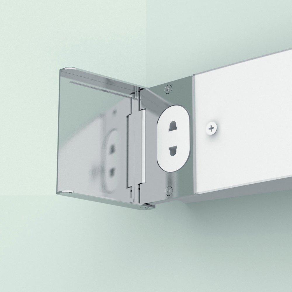 Bathroom Wall Lighting. Alba Led Bathroom Wall Light   Rukinet com