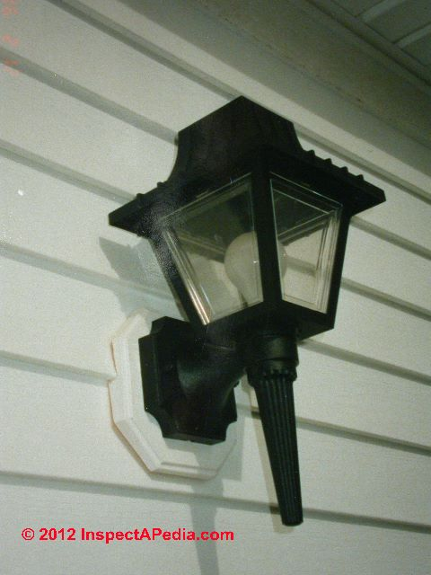 Repair Exterior Light Fixture Light Fixtures