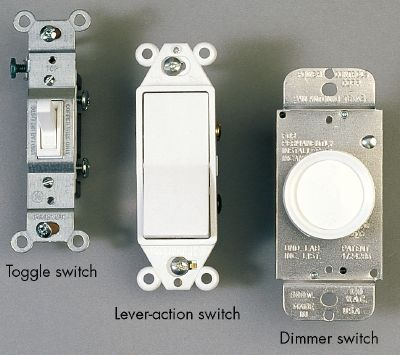 wall light switches photo - 3