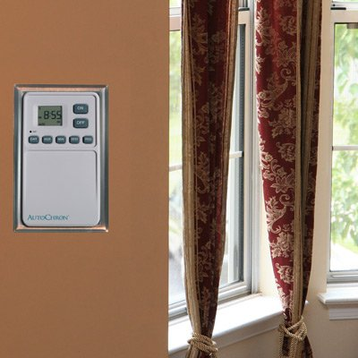 wall light timer switch photo - 8