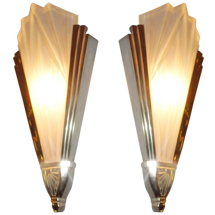 Art Deco Wall Lights : Wall lights art deco ways to feel the futurism of