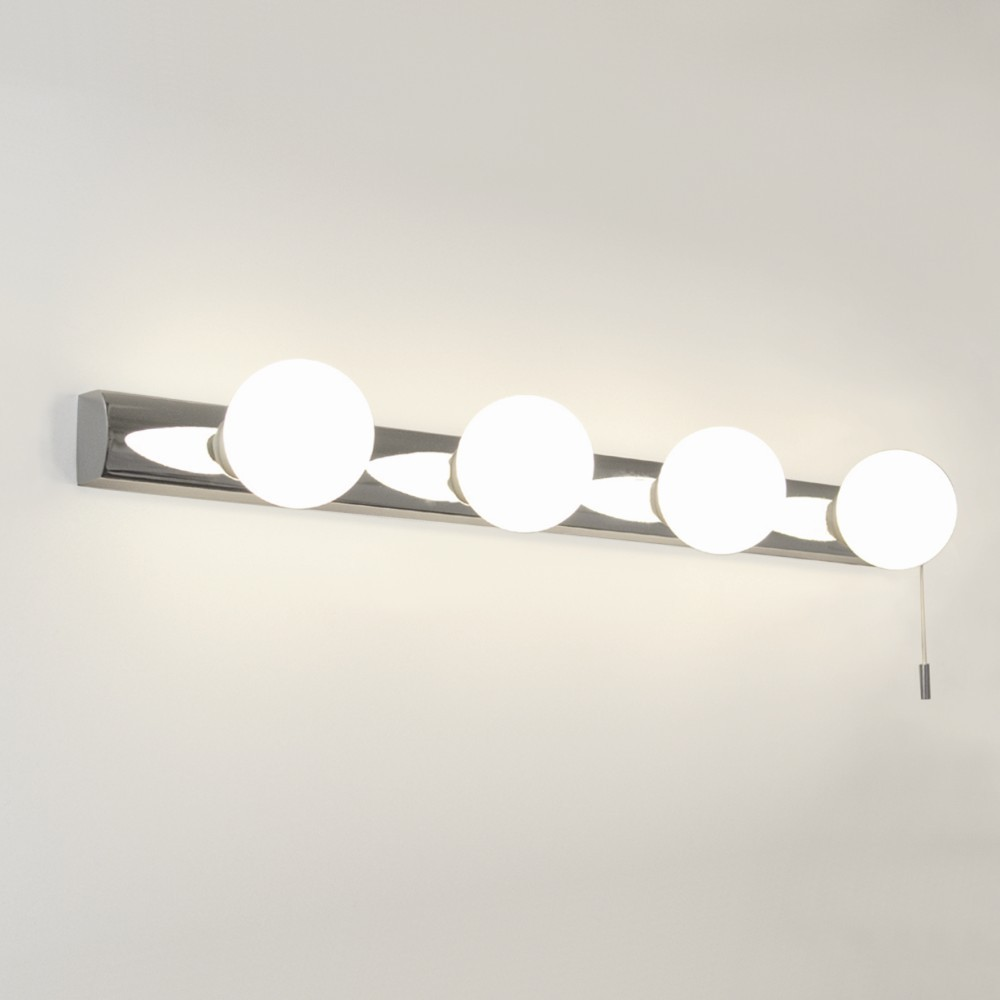 wall lights chrome photo - 7