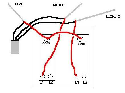 wiring a light two lights operated by one switch electrical Wiring Diagram For Wall Lights wiring diagram 2 lights 1 switch wiring diagram and schematic design, wiring diagram wiring diagram for wall lights