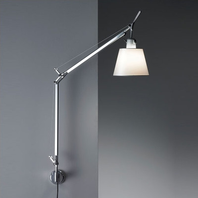 wall mount swing arm lamp photo - 2