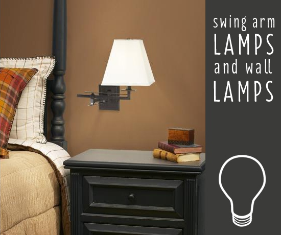 wall mount swing arm lamp photo - 7