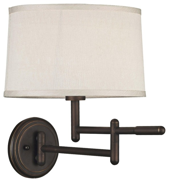 wall mount swing arm lamp photo - 9
