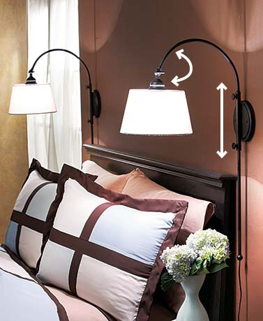 wall mounted bed lights photo - 6