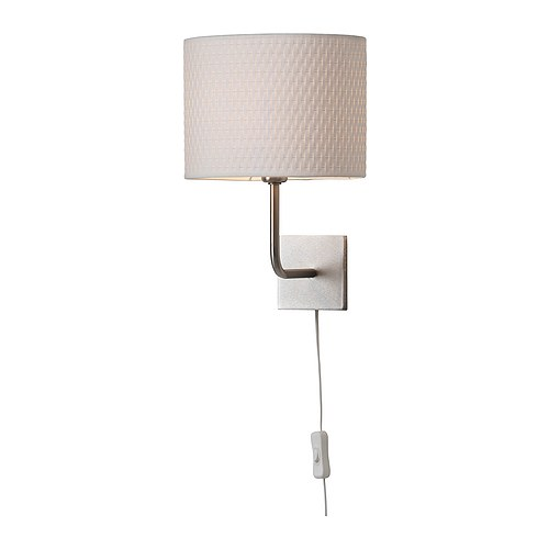 wall mounted bedside lamp photo - 4