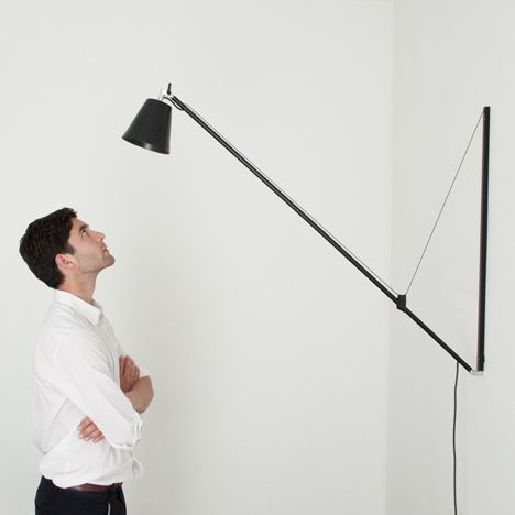 wall mounted desk lamp photo - 1