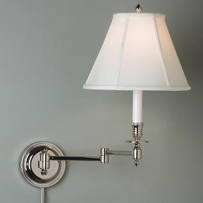 wall mounted bedside lamps warisan lighting. Black Bedroom Furniture Sets. Home Design Ideas