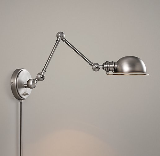 Wall Mounted Extendable Lamp : Wall mounted lamps with plug - 10 different sorts of lighting fixtures that you must install ...