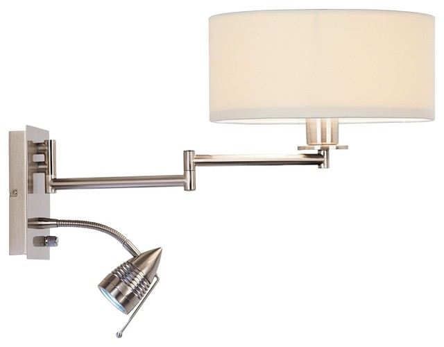 wall mounted lamps with plug photo - 8