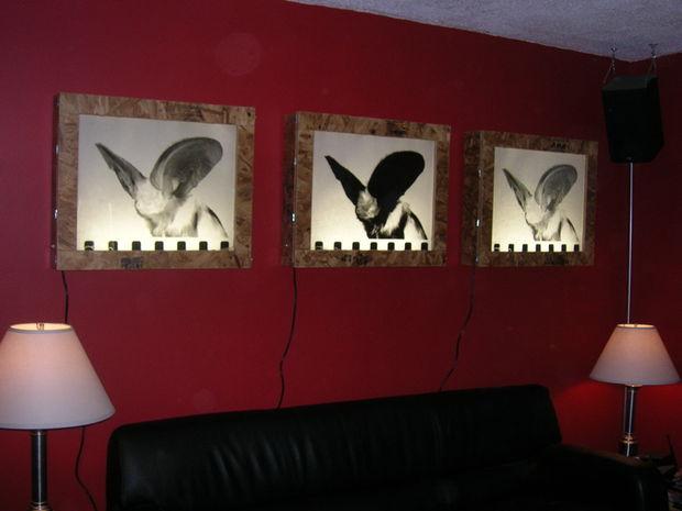 wall mounted light box photo - 5