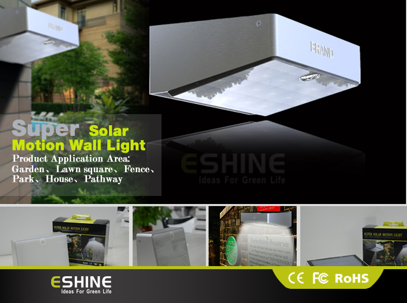 Wall Mounted Solar Lights Outdoor: wall mounted solar lights outdoor photo - 3,Lighting