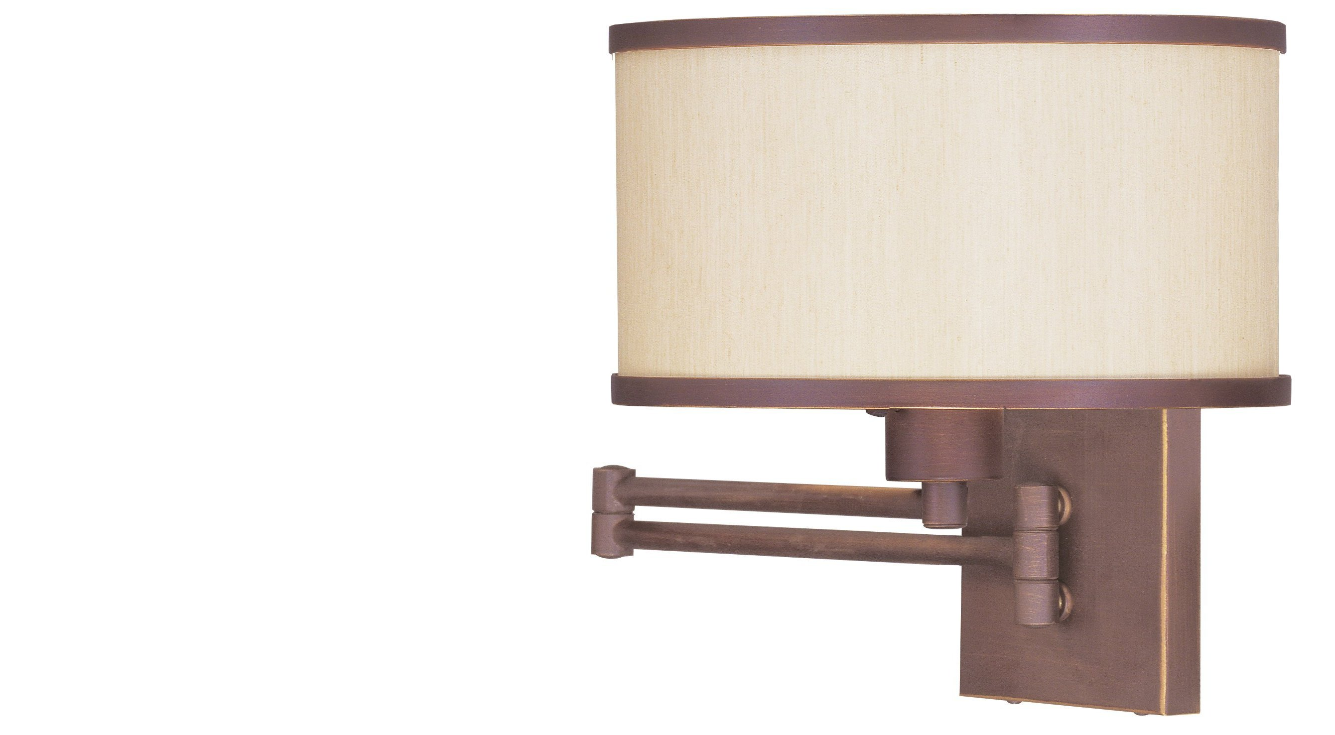 wall mounted swing arm lamps photo - 1