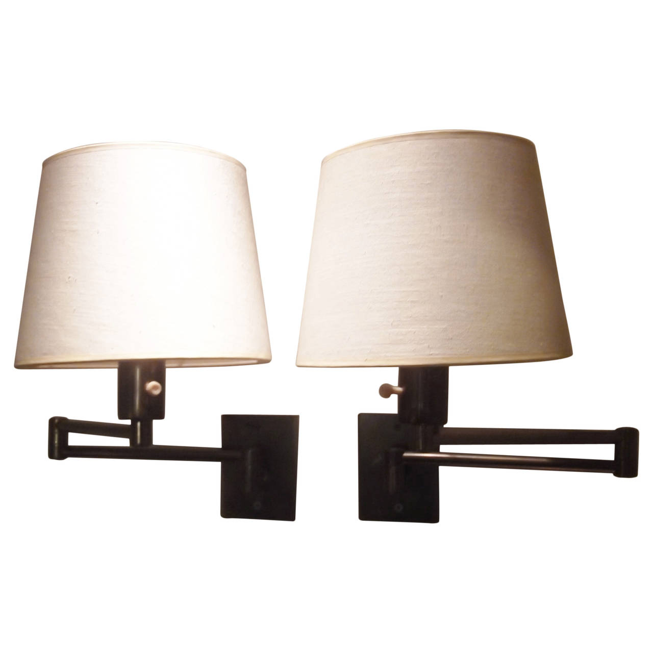wall mounted swing arm lamps photo - 10