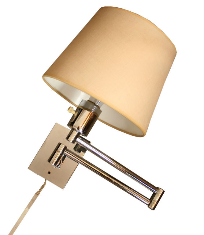 wall mounted swing arm lamps photo - 2