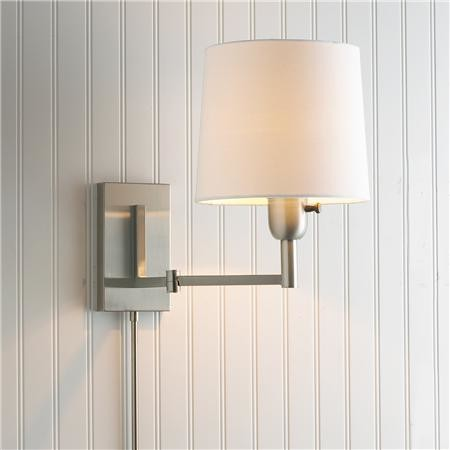 wall mounted swing arm lamps photo - 4