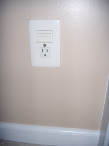 wall outlet night light photo - 1