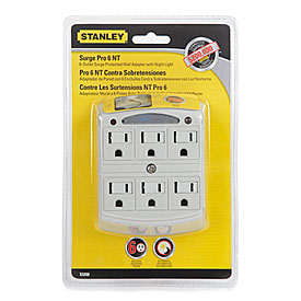 wall outlet night light photo - 4