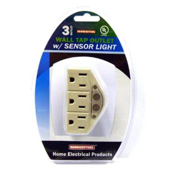 wall outlet night light photo - 8