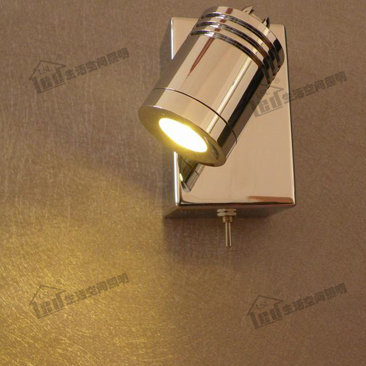 Led reading light headboard roselawnlutheran for Wall light with reading light