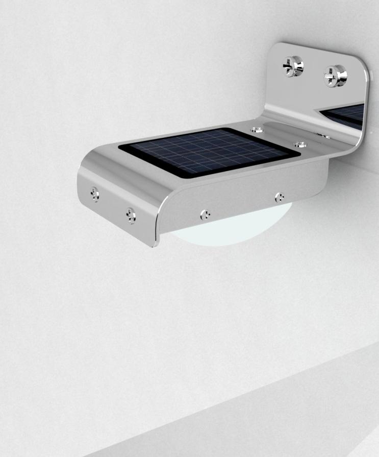 wall solar lights photo - 9