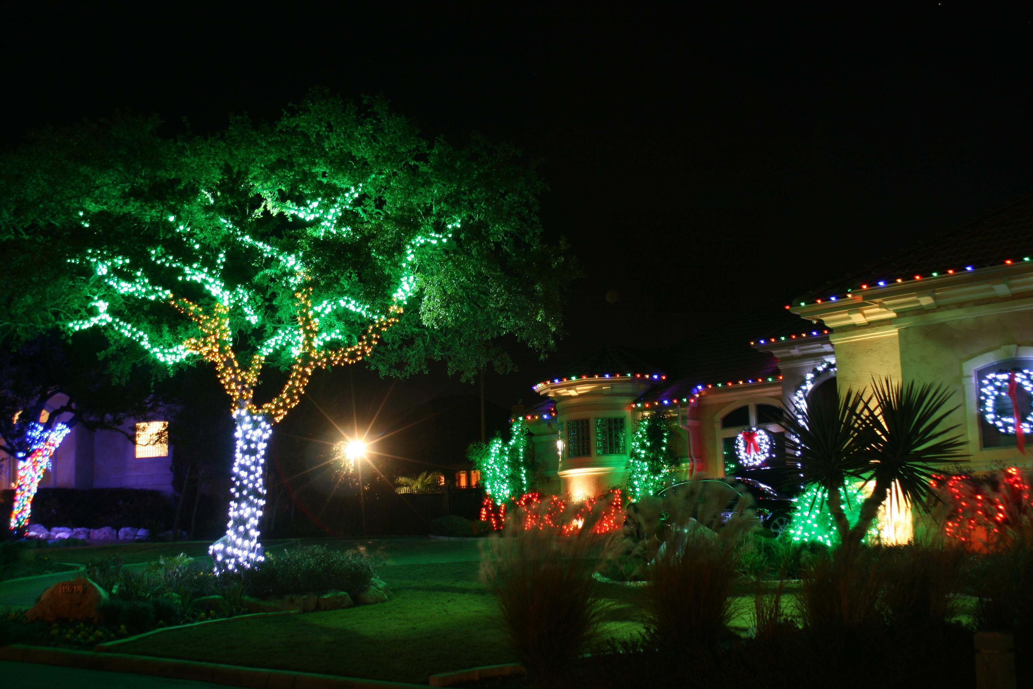 Wall string lights  Warisan Lighting