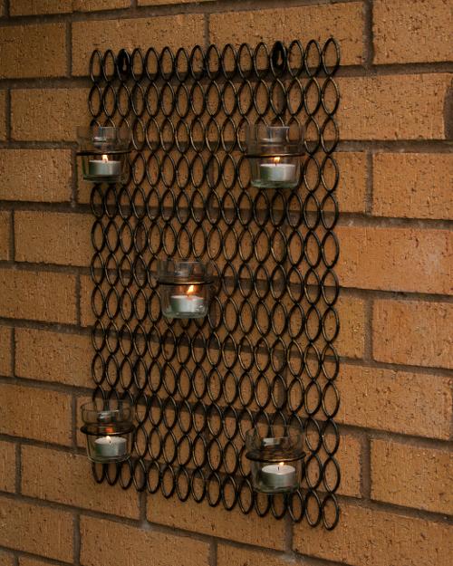 wall tea light holders photo - 5