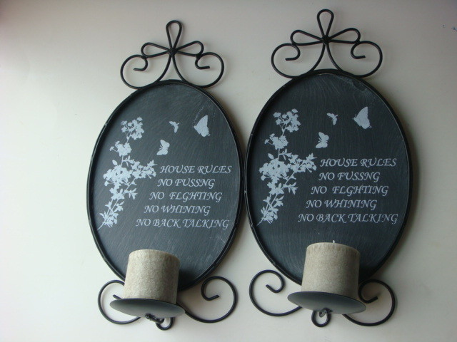 wall tea light holders photo - 9