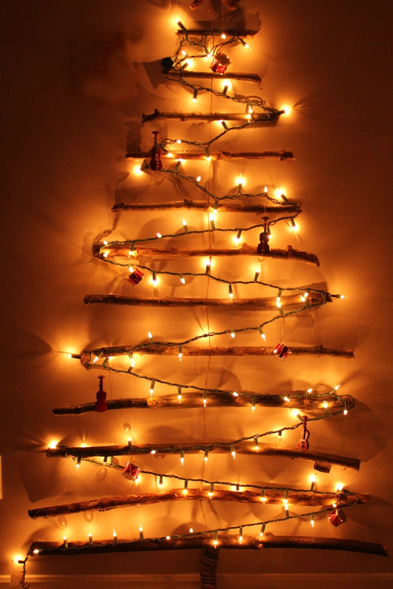 Wall tree lights adding decor and lighting to your home warisan lighting - Add spark wall art picture lights ...