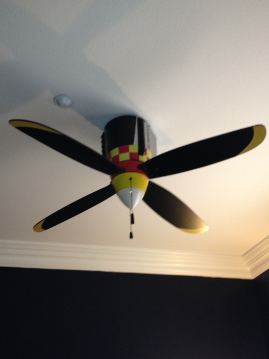 warbird ceiling fan photo - 7