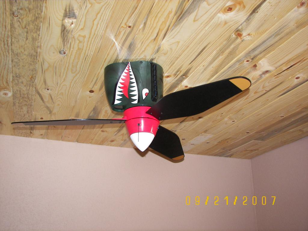 warbird ceiling fan photo - 8