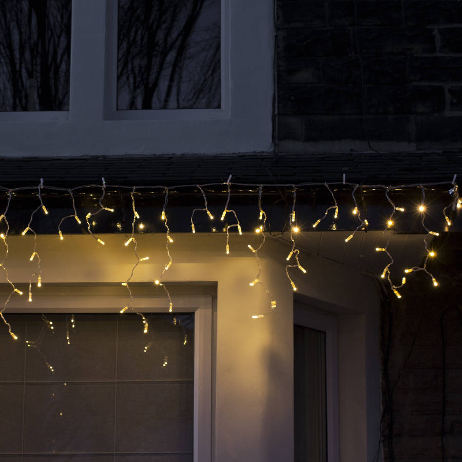 Warm White Outdoor Lights Photo   5