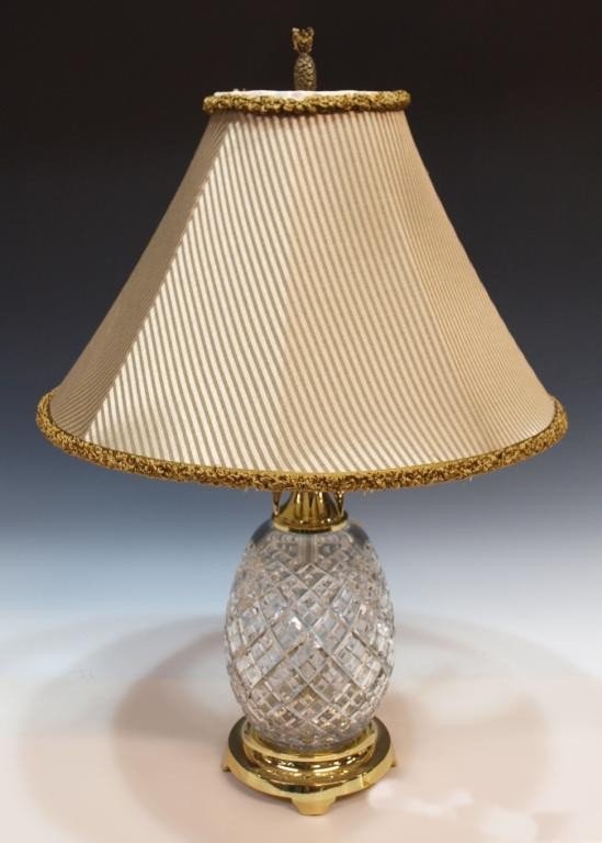 waterford pineapple lamp photo - 3