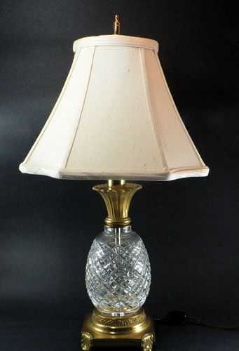 waterford pineapple lamp photo - 4